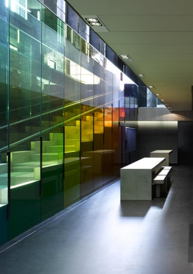 Image:  Kvadrat's London showroom (photo by Ed Reeve via  dezeen )