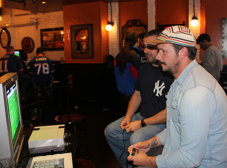 Some NYC Tecmo action from 2017.