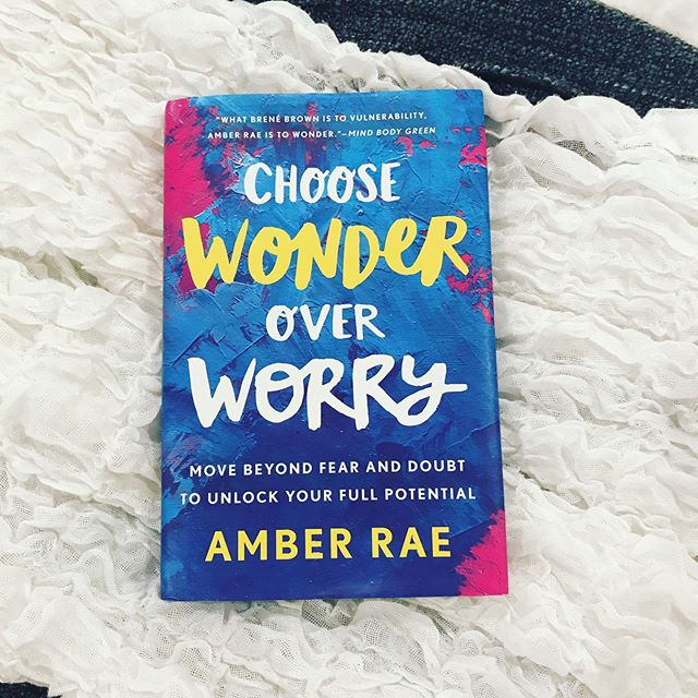 There are few things I love more than a good book! But make no mistake this is not an easy beach read. 🏖  I saw @heyamberrae present at a conference earlier this year and was immediately drawn to her vulnerability, candor and message. Worry has occupied far too much brain space in my life, so after her session I ordered this book and was not disappointed. There are journaling exercises that helped me pause for reflection, and reframe worry to the more joyful wonder. 💫 I'm always on the hunt for great reads, message me with your recommendations!  #coach #wonder #joy #bookworm #summerreads #reflection #inspired #lifecoach #femaleentrepreneur