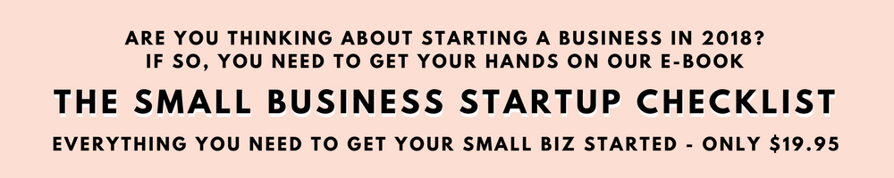 Two Girls and a Laptop. Ebook. Small Business Startup Checklist.
