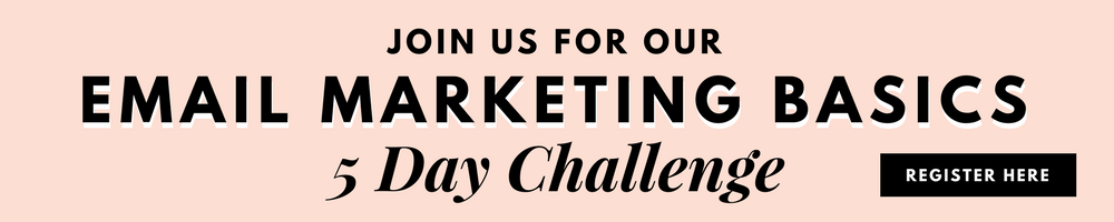 Two Girls and a Laptop. Email Marketing Basics 5 Day Challenge.