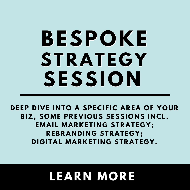 Copy of Bespoke Strategy Session