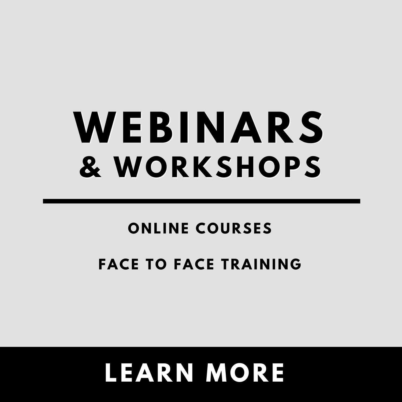 Copy of Webinars & Workshops