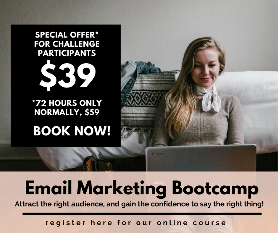 Two Girls and a Laptop. Email Marketing Bootcamp.