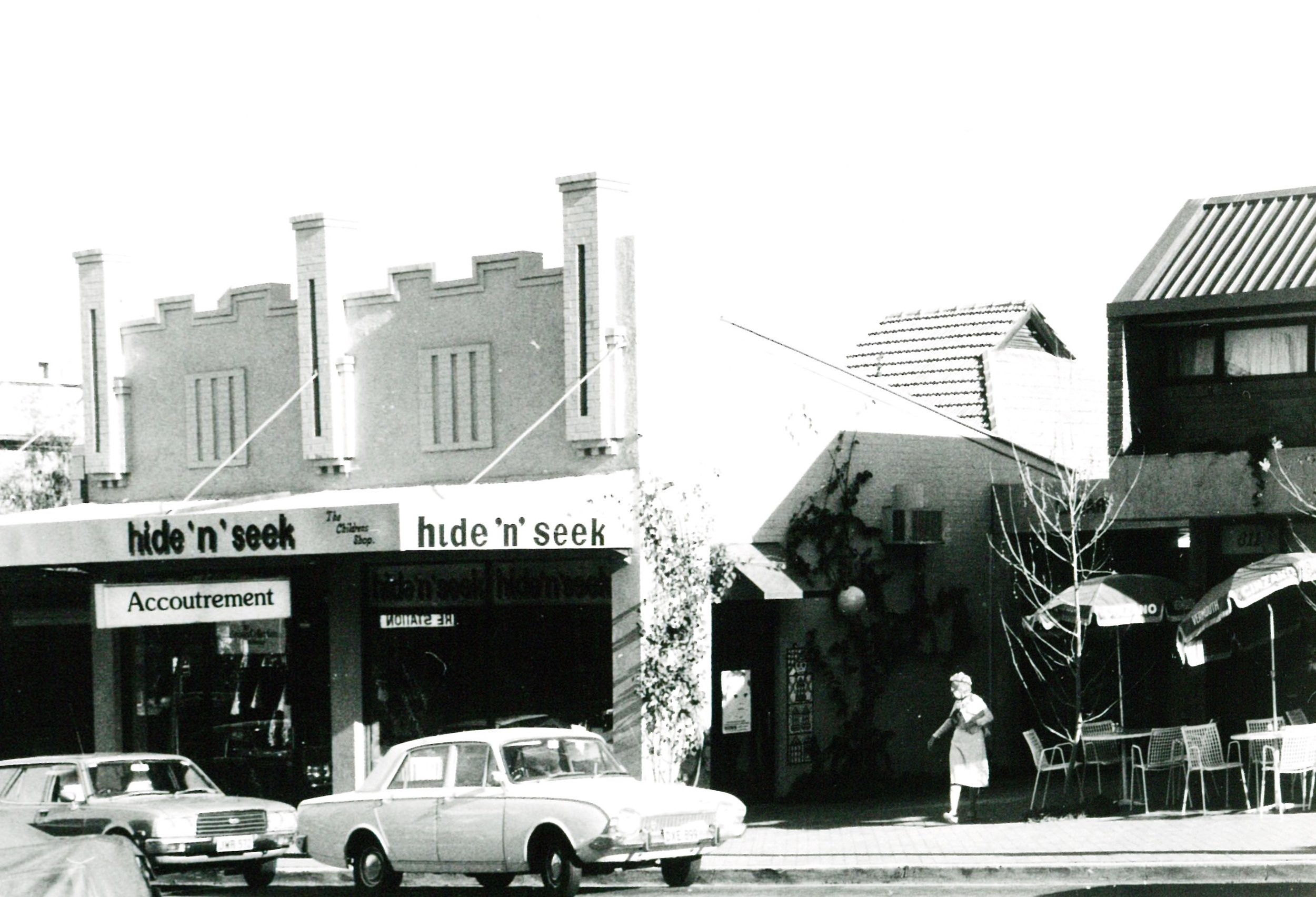 Accoutrement has been a permanent fixture on Mosman's Military Rd since the 1980s.