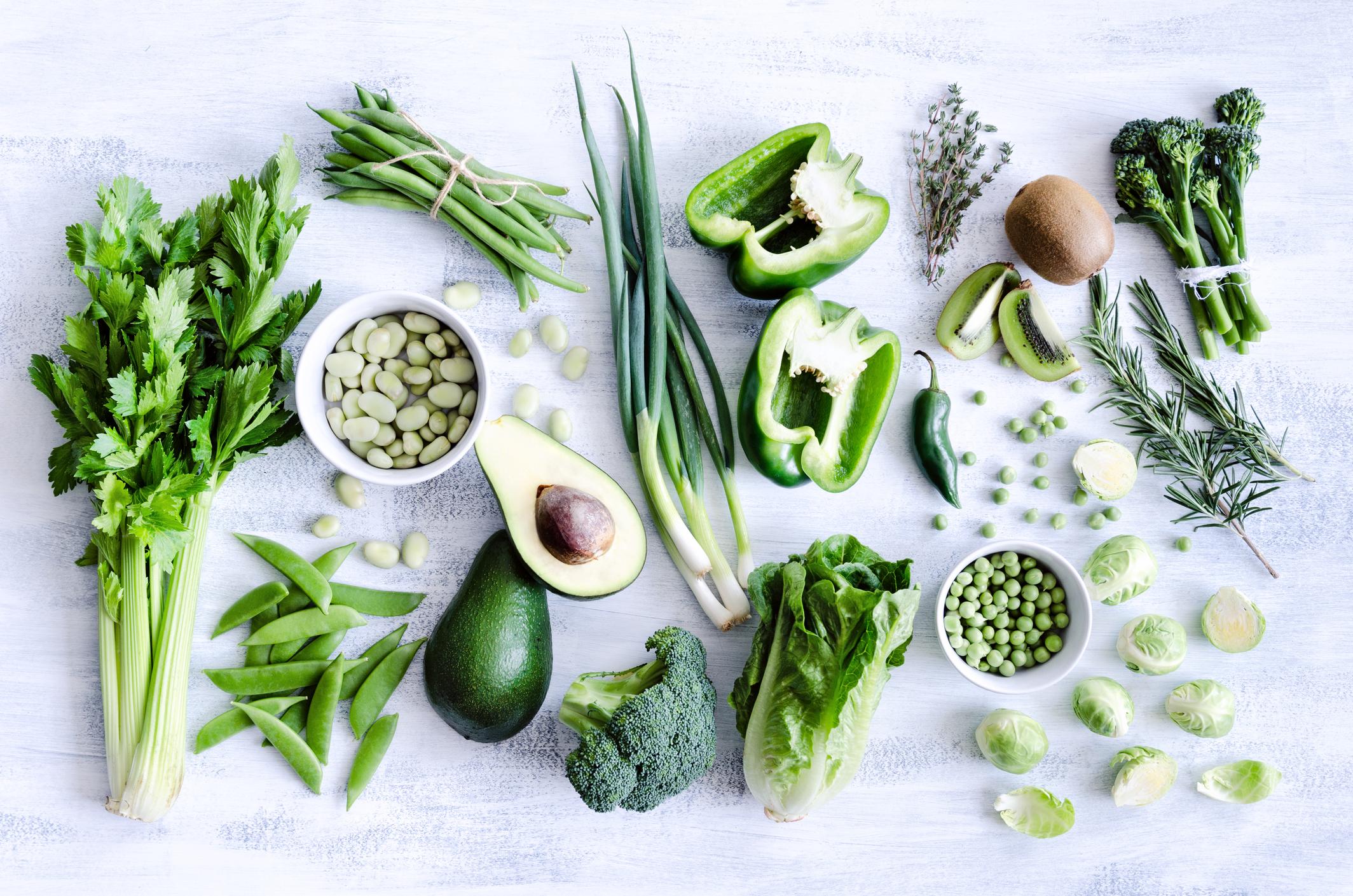 2. Leafy Greens -