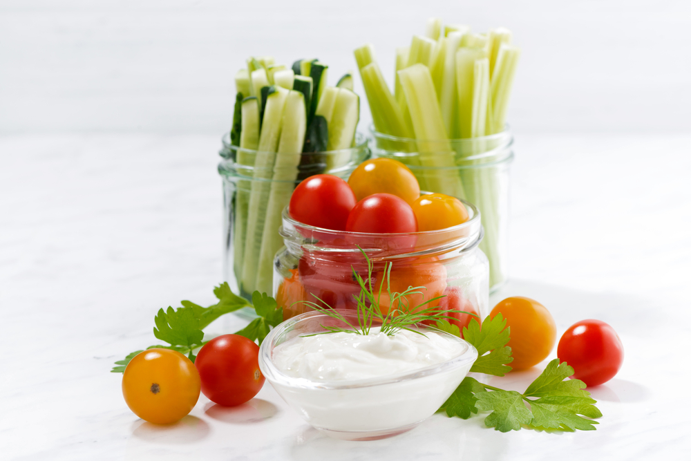 4. cut strip vegetables -