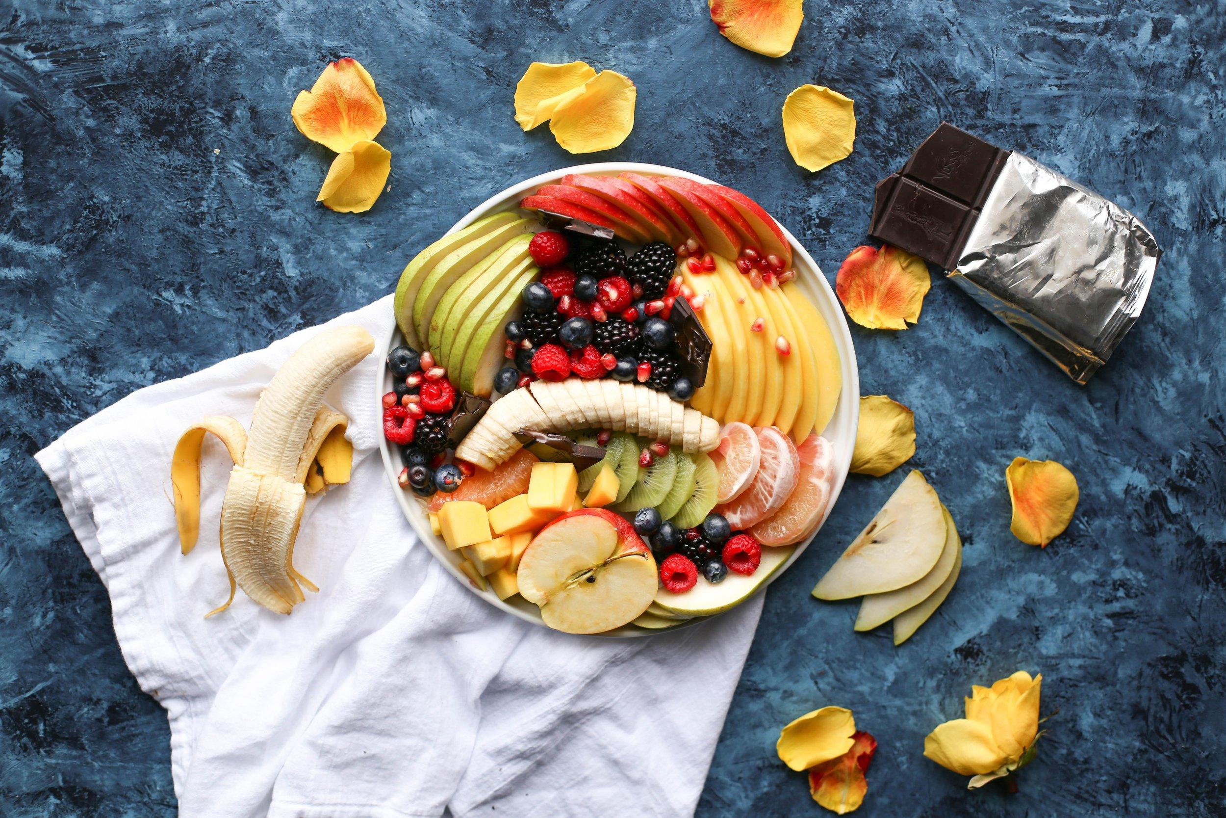 7. fresh fruit -