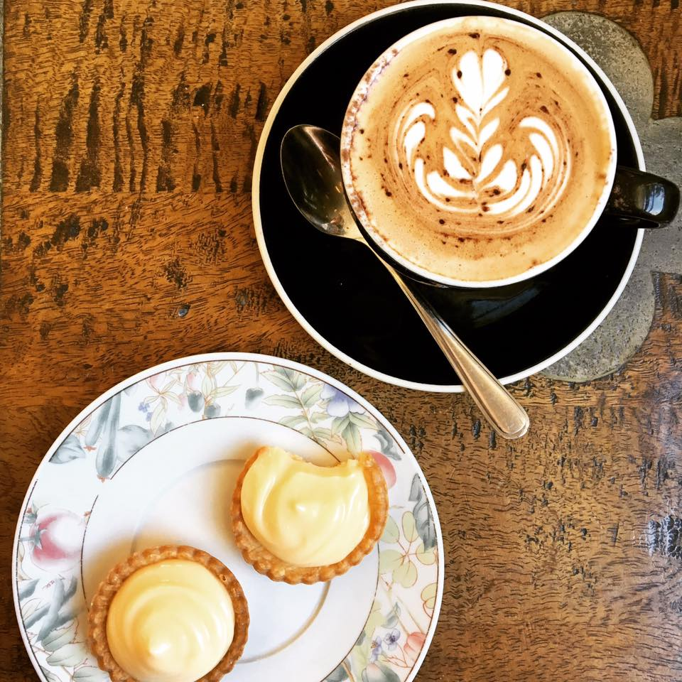 Frenchy's coffee and lemon tarts - Mosman Collective