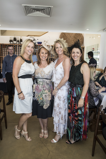 Kay Neale, Julie Sidery-Wood, Lorna Lynch and Clare Butler.