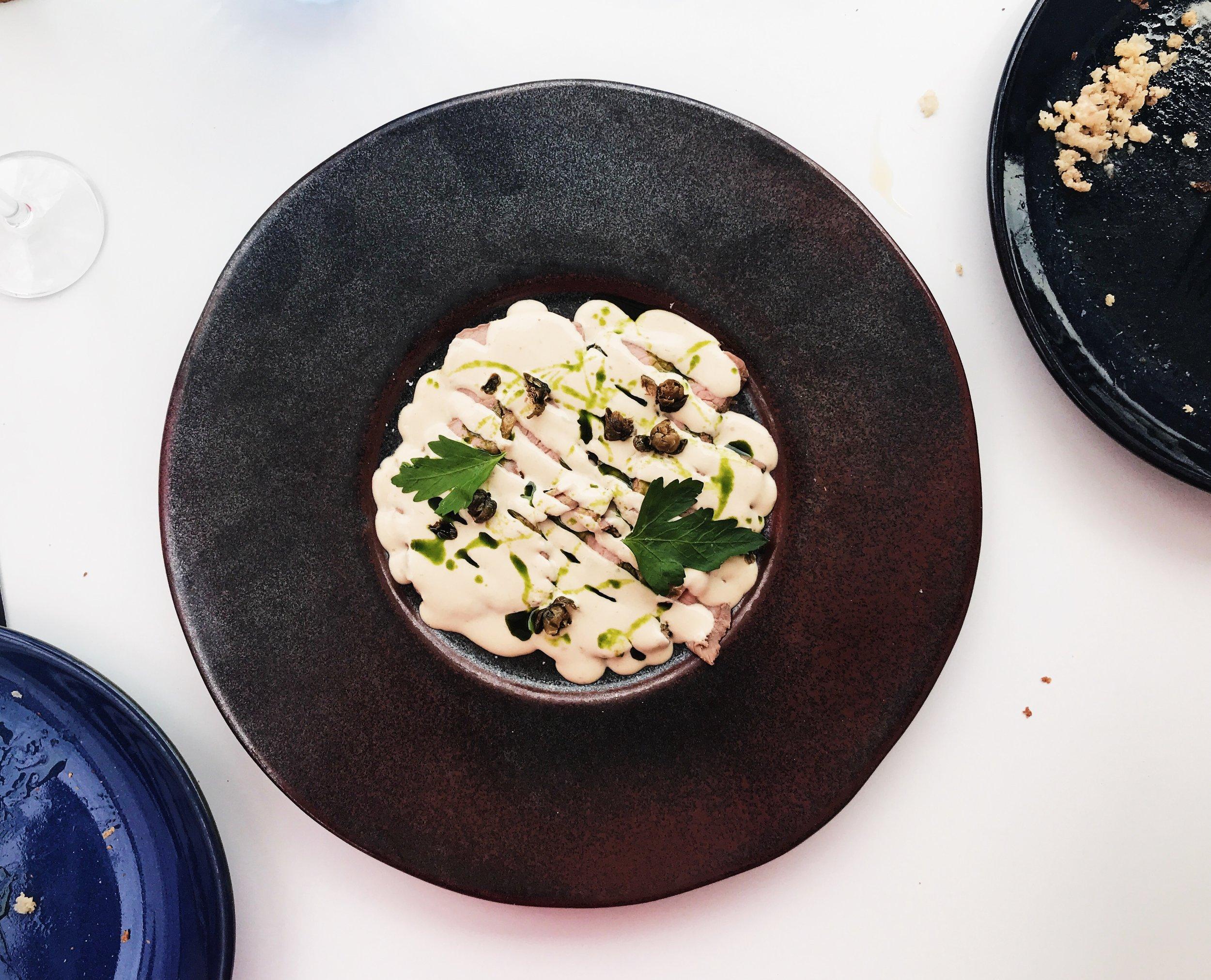 Vitello tonnato - truly delicious!