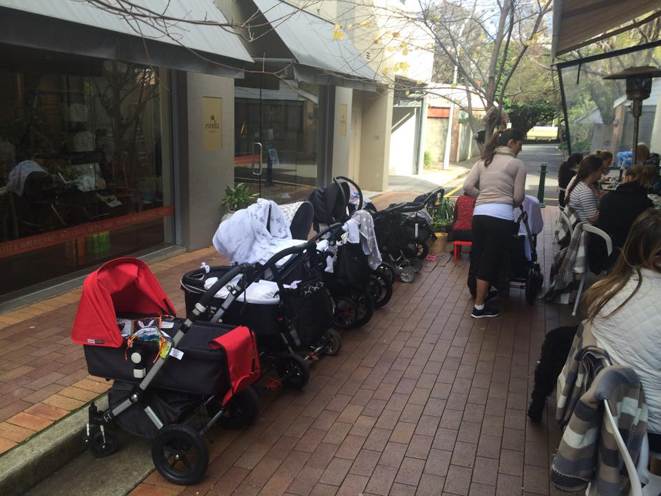 Albion Lane Cafe is a popular spot - especially when it comes to babies and toddlers! Image: Facebook.
