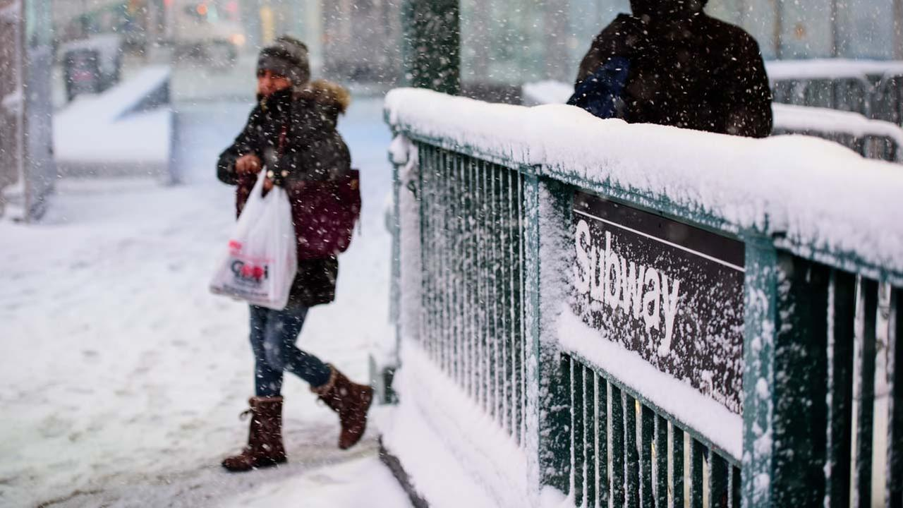 """New York City: A deadly """"bomb cyclone"""" hits Manhattan this week."""