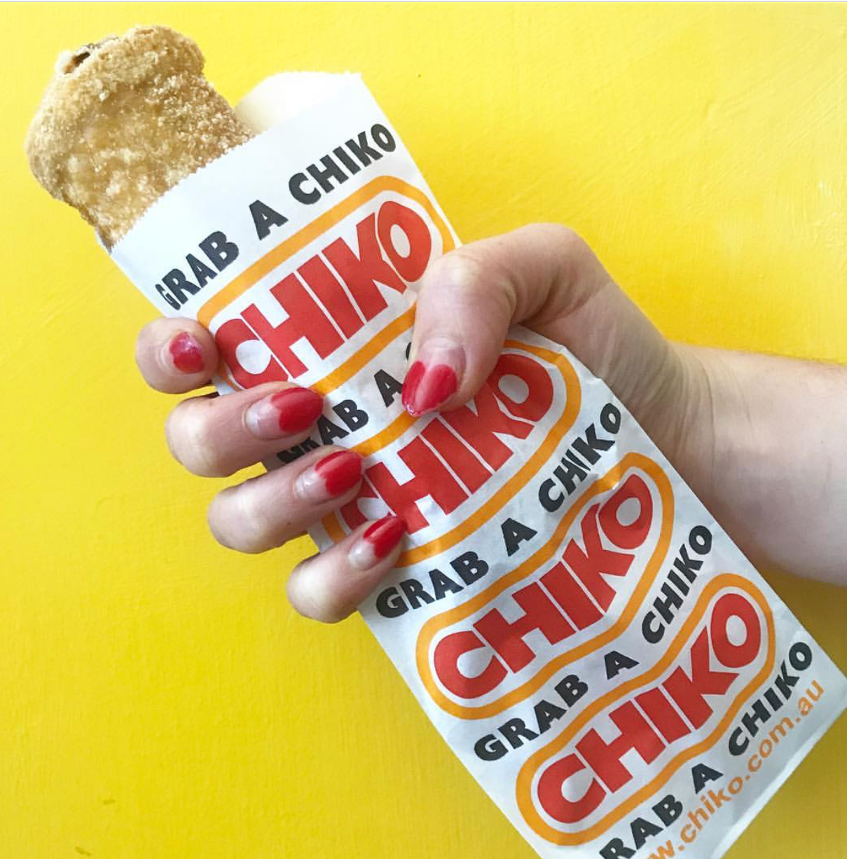 1. The chiko roll - A strange, deep fried snack based on a Chinese spring roll, containing ingredients that are mostly unidentifiable.