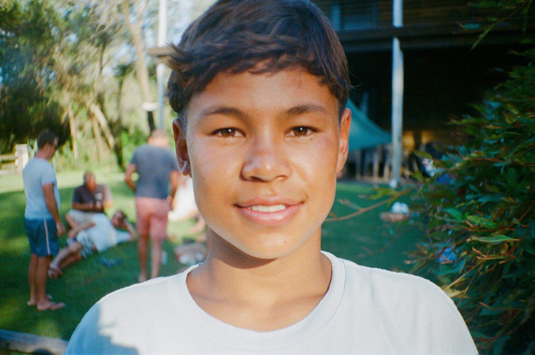 Jack Soepono, 16, stars in Boys Don't Cry.