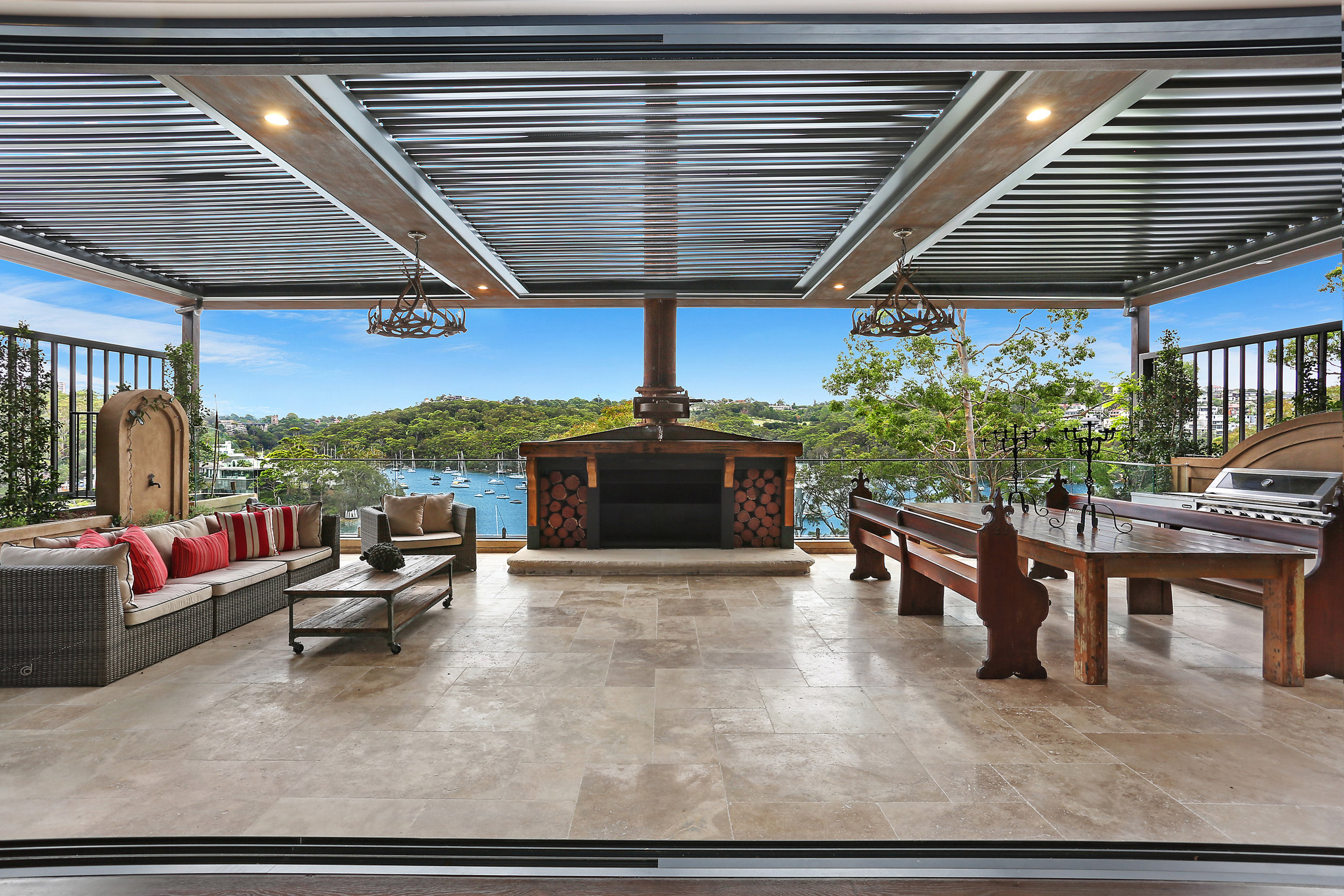 """This incredible property, owned and designed by Antony Tisch, is """"absolutely breathtaking"""", says selling agent   Michael Coombs  ."""