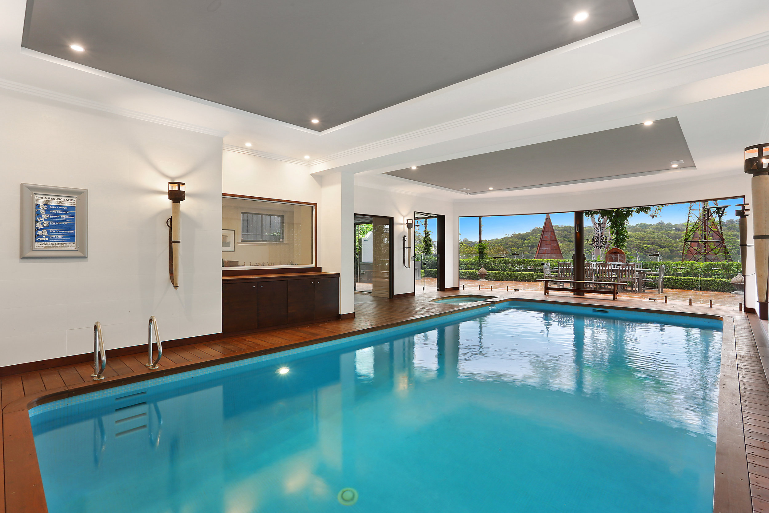 Yes, there's even an indoor pool!  Contact:   Michael Coombs/McGrath