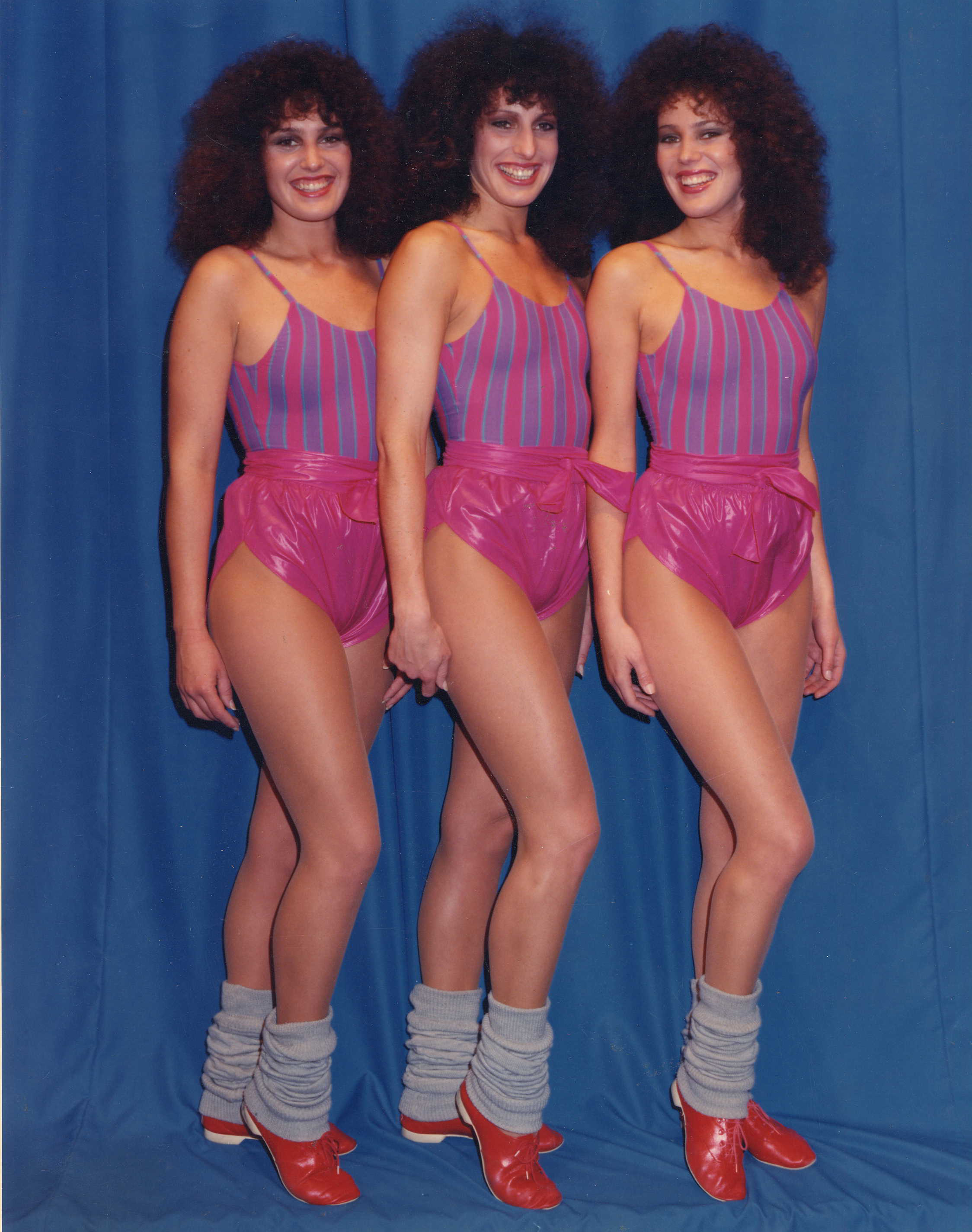 The Rancan Sisters found international fame in the 1990's.