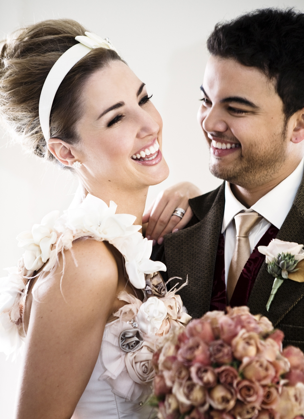 Graham photographed the wedding of Guy Sebastian and Jules Egan.