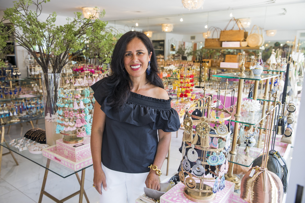 Tanya Mahoney, owner of Pelita boutique on Military Rd.