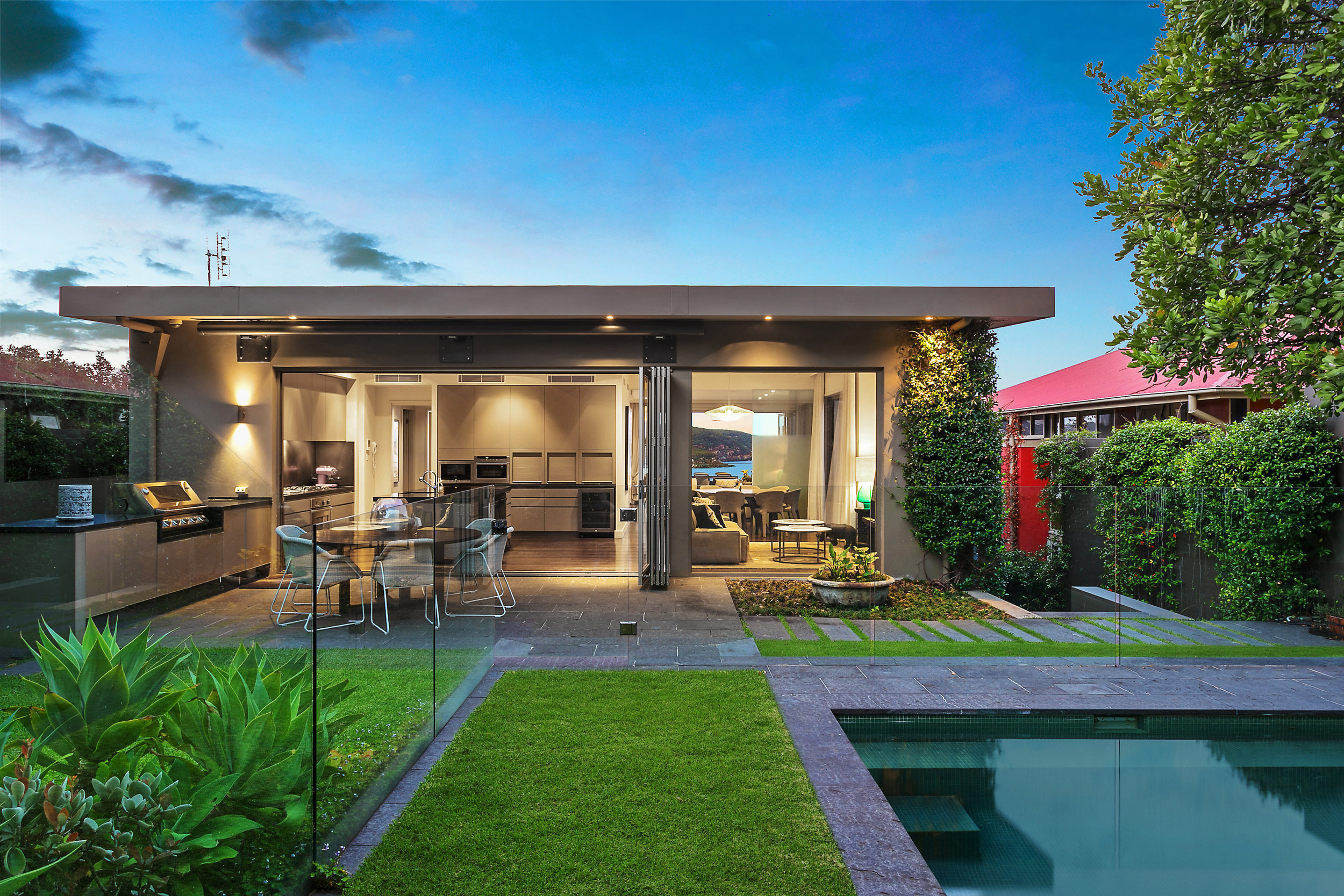 Opulent and sophisticated entertaining awaits at 9 Plunkett Rd, Mosman.
