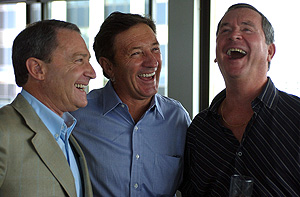 The great Ian Ross, pictured here with Steve and Ken Sutcliffe.