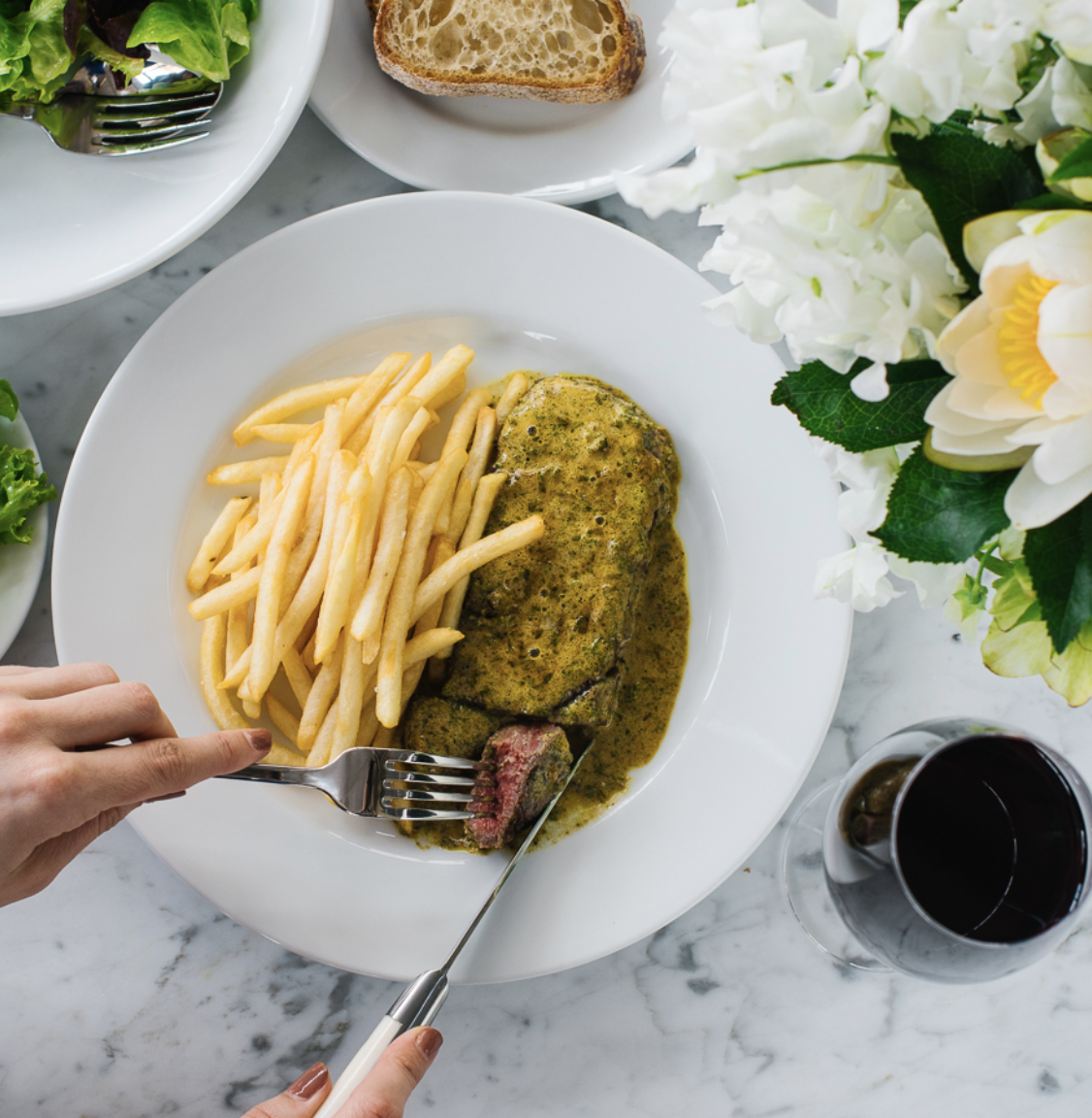 Bistro Moncur is a favourite local dining spot.