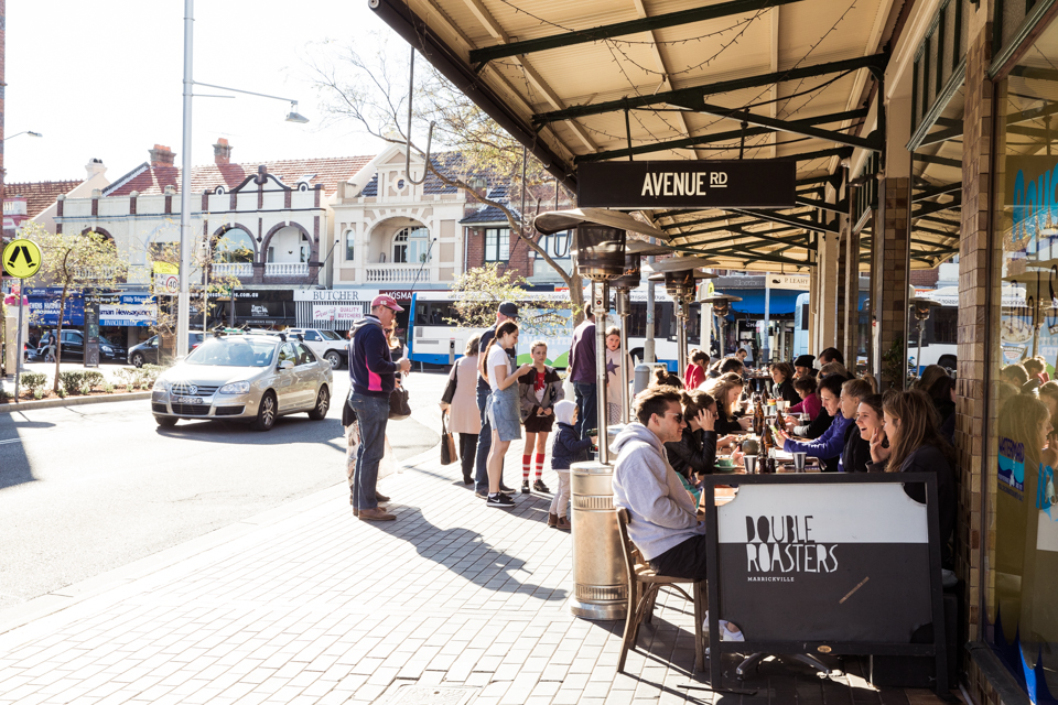 Avenue Road cafe is a favourite destination for the Steins.