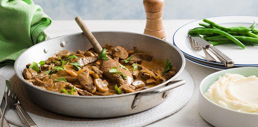 Beef Stroganoff is Sarah's signature dish!