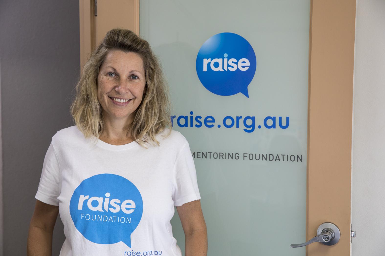 Vicki Condon in CEO of Mosman charity Raise Foundation.