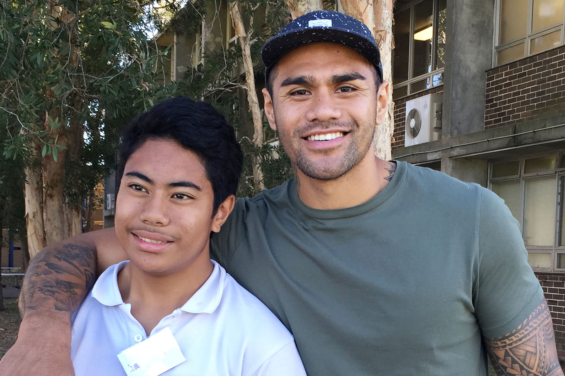 A Raise mentor and mentee. Raise has 1000 mentors and 1000 mentees around Australia.
