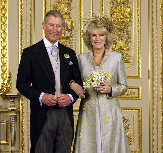 Camilla, Duchess of Cornwall - Carolyn describes this headpiece as a