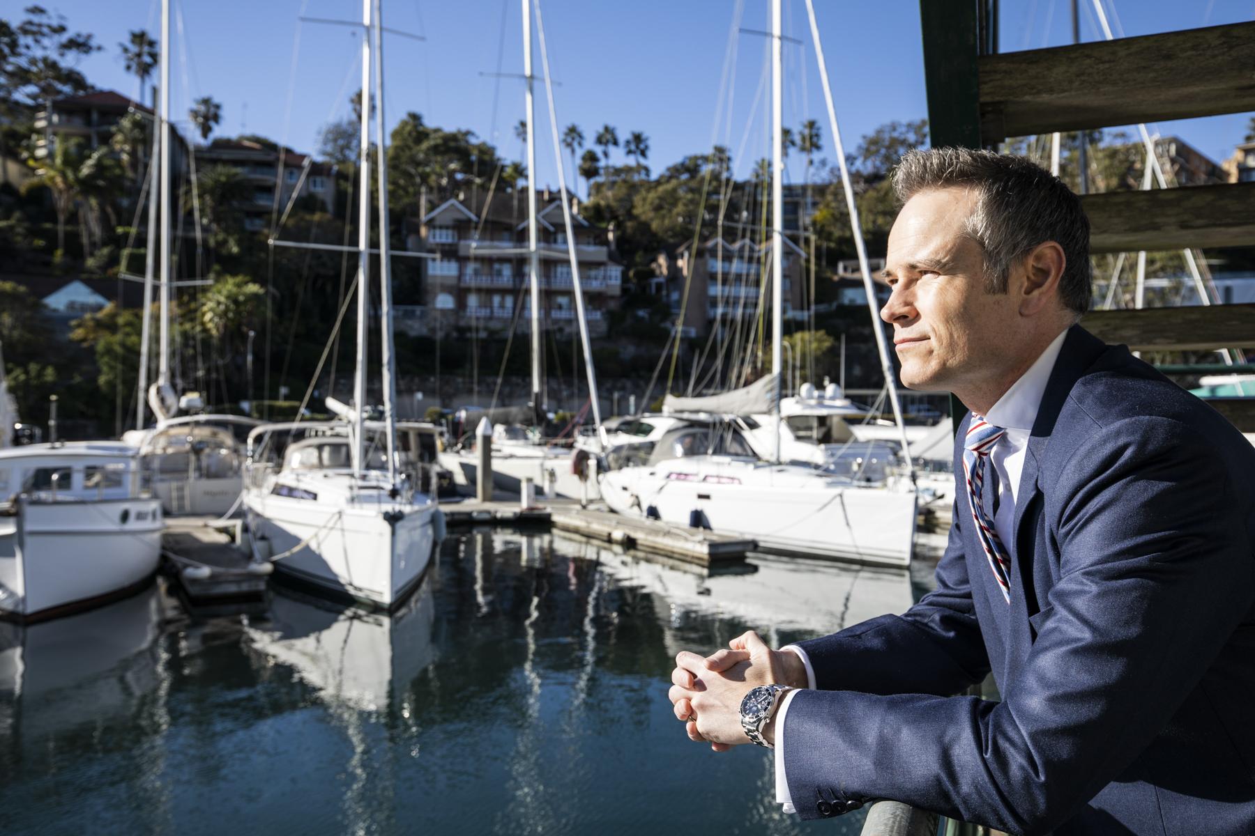 Member Tim James is asking locals to help keep Mosman Rowers afloat.