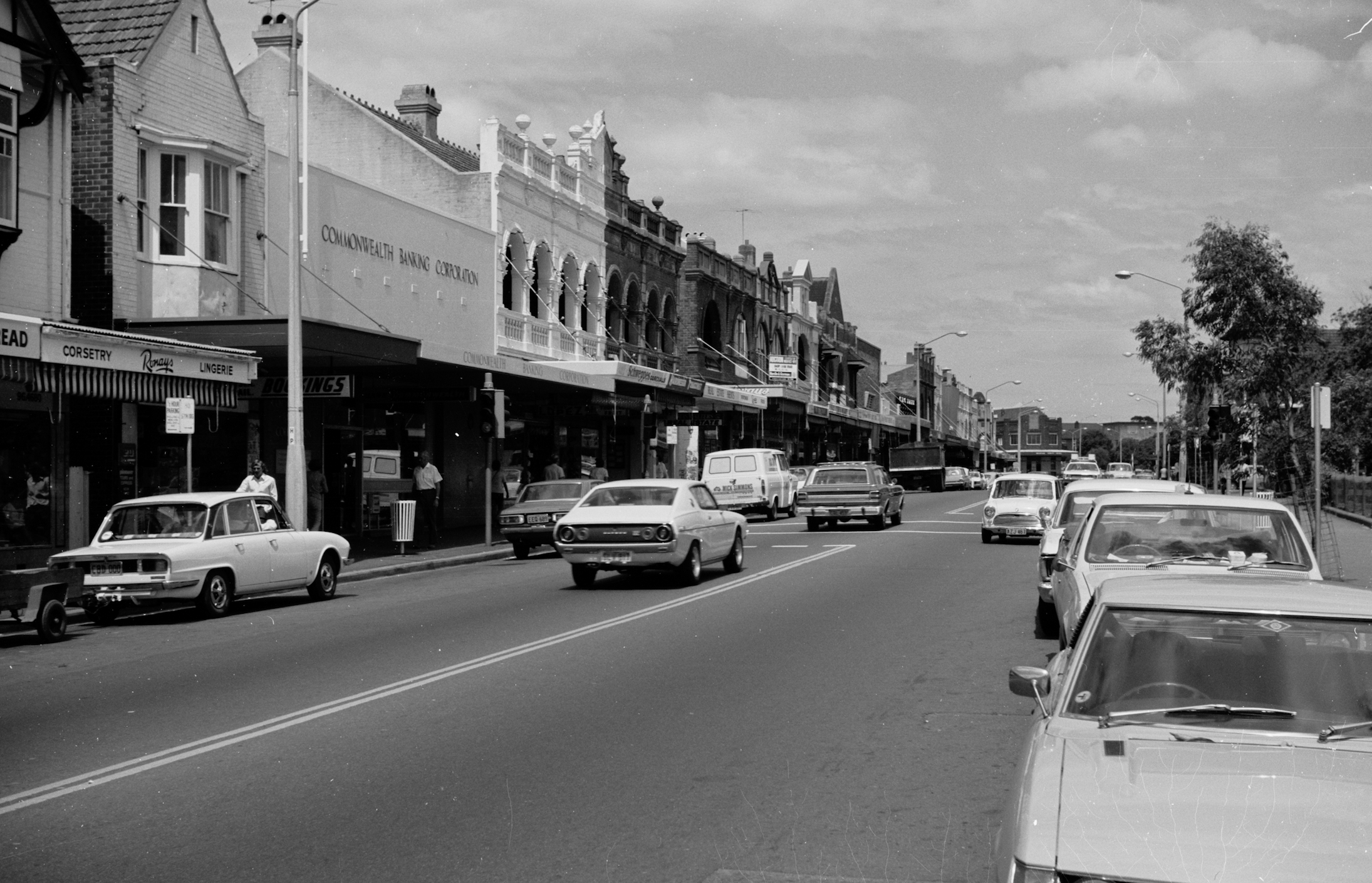 Military Rd, Mosman in the 70's.
