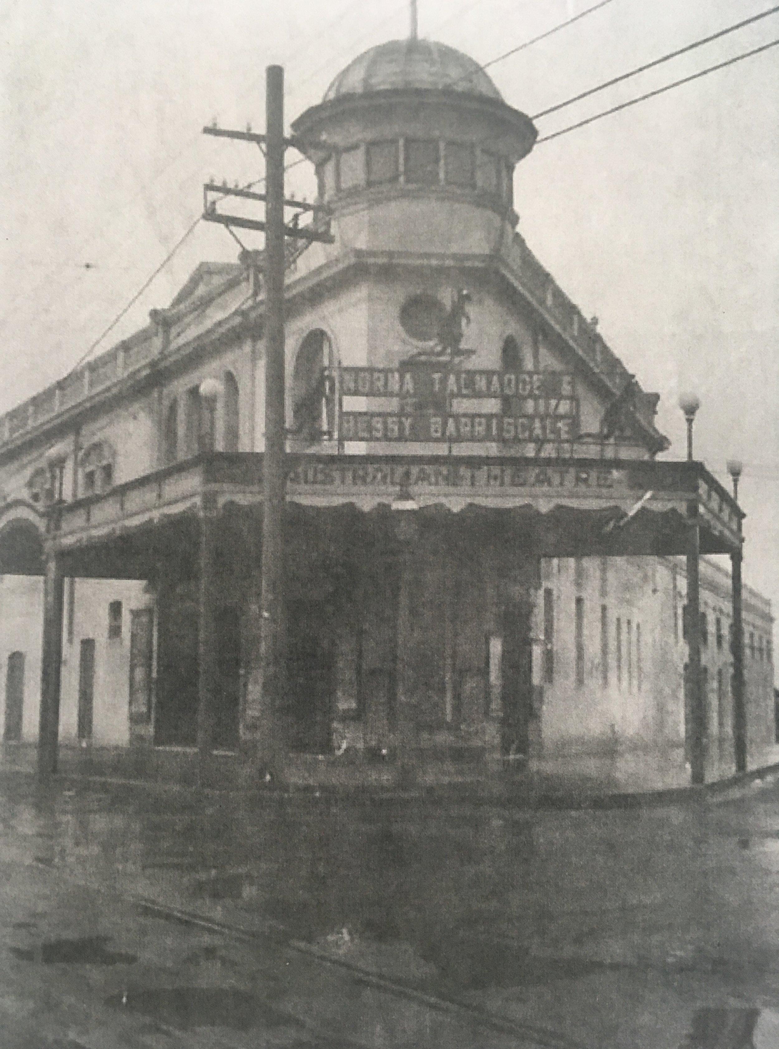 The Australian Theatre opened in Mosman in 1913.