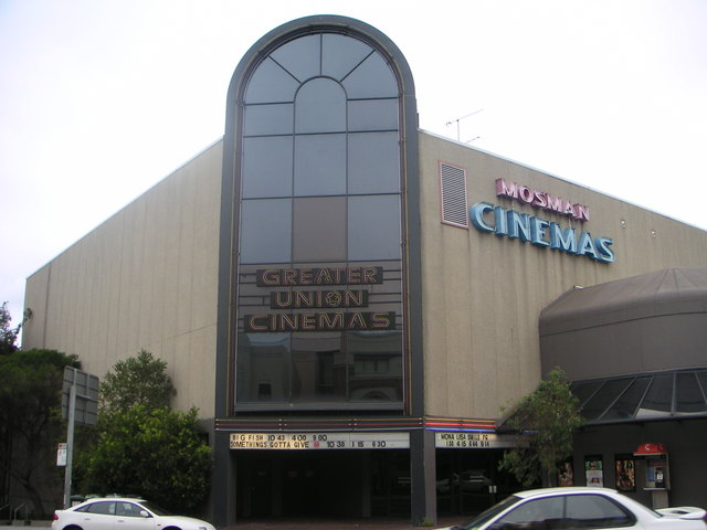 The last cinema in Mosman closed in July 2017.