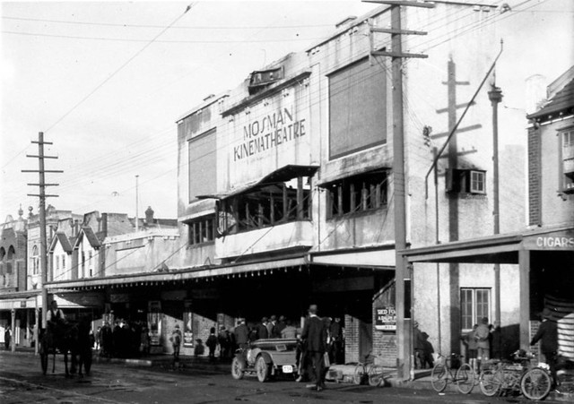 Mosman's Kinema Theatre, on the site where our local RSL now stands.