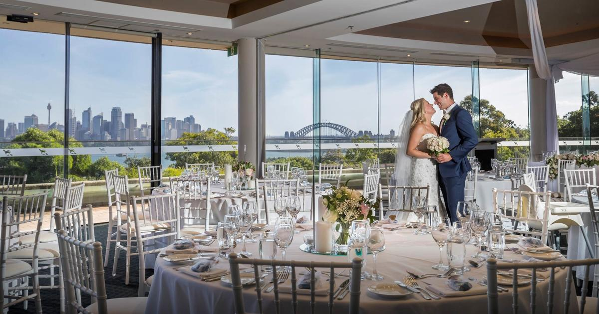 TAronga centre - ADDRESS: 2a Bradleys Head Rd, Mosman.INFO: Where do we begin? Iconic views of the Sydney Opera House and Harbour Bridge, exclusive photo locations, and a variety of reception spaces to choose from (including two ballrooms) promise to make your wedding unforgettable. Taronga can cater for up to 250 guests.www.tarongacentre.com.au
