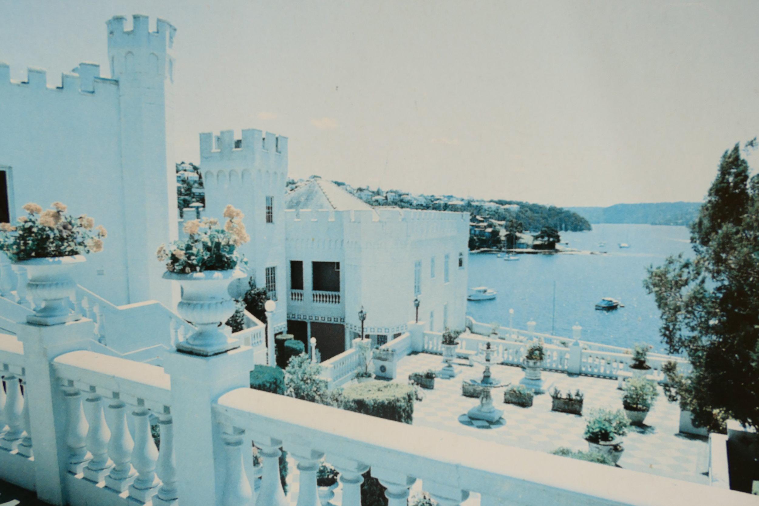 Vivian Chalwin spent 30 years building his fairytale Cremorne castle.
