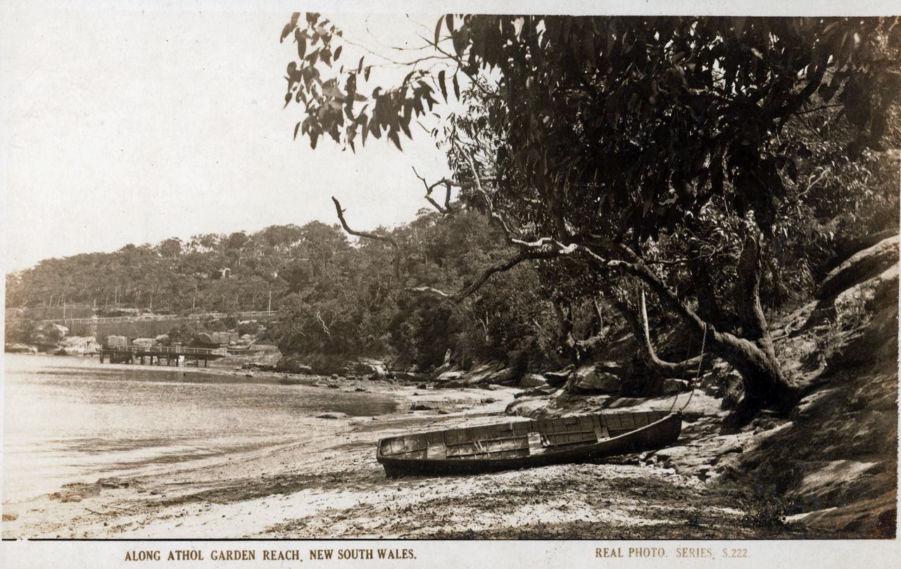 Athol Bay in the 1920s. The scene of one of the city's most heinous child crimes.