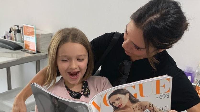 The Beckham girls in Sydney this week. Image: Victoria Beckham/Instagram .