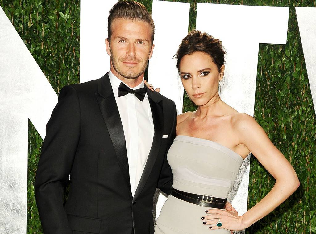 Move over Harry and Megs - the Beckhams are in Mosman!