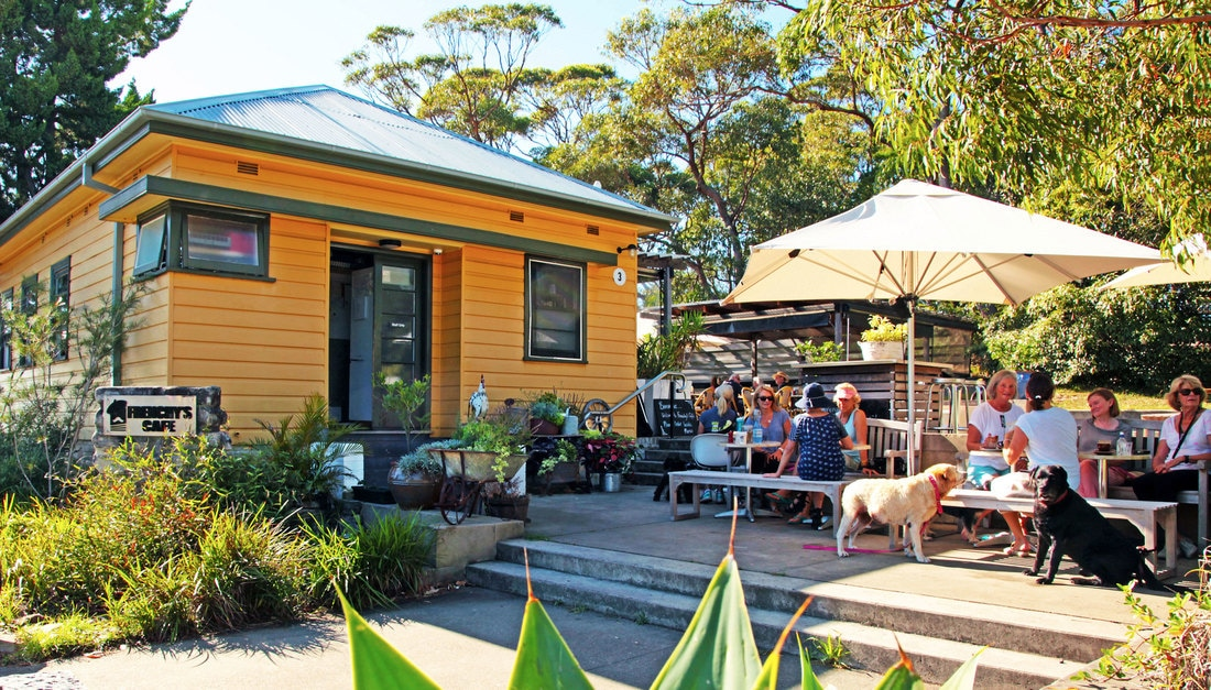 Frenchy's cafe is one of Jacinta Tynan's favourite local haunts.