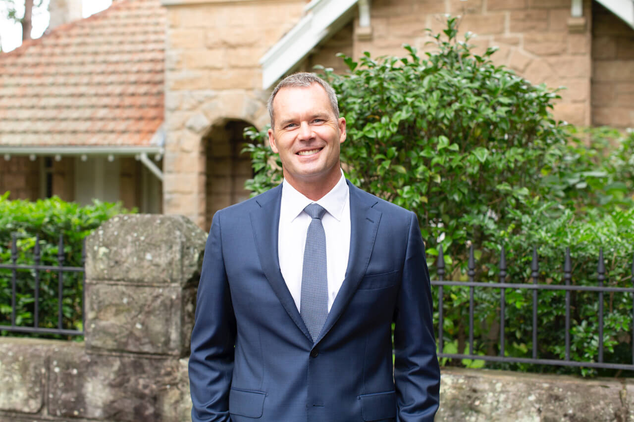 EXCLUSIVE: Tom Williams in his new role as Avnu real estate agent.