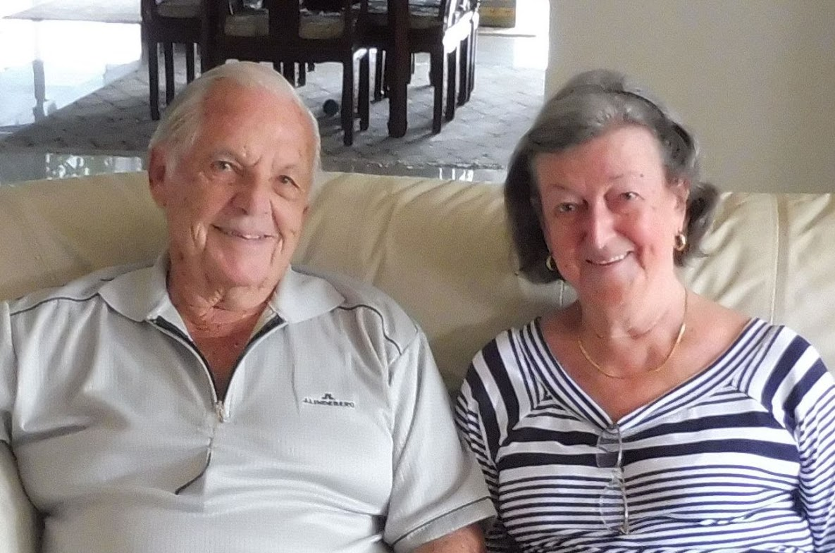 "Bob and Irene have recently moved to Queensland but still call Mosman ""home""."