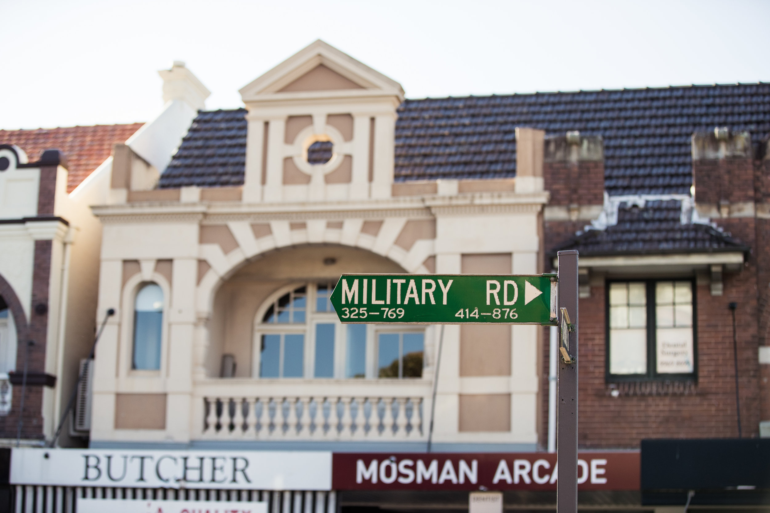 Military Rd Mosman