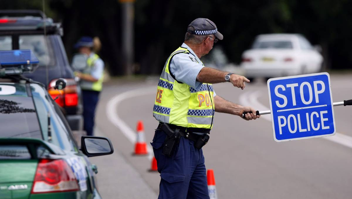 roadside breath test