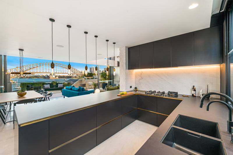 Rock star living, with a kitchen fit for a celebrity chef!
