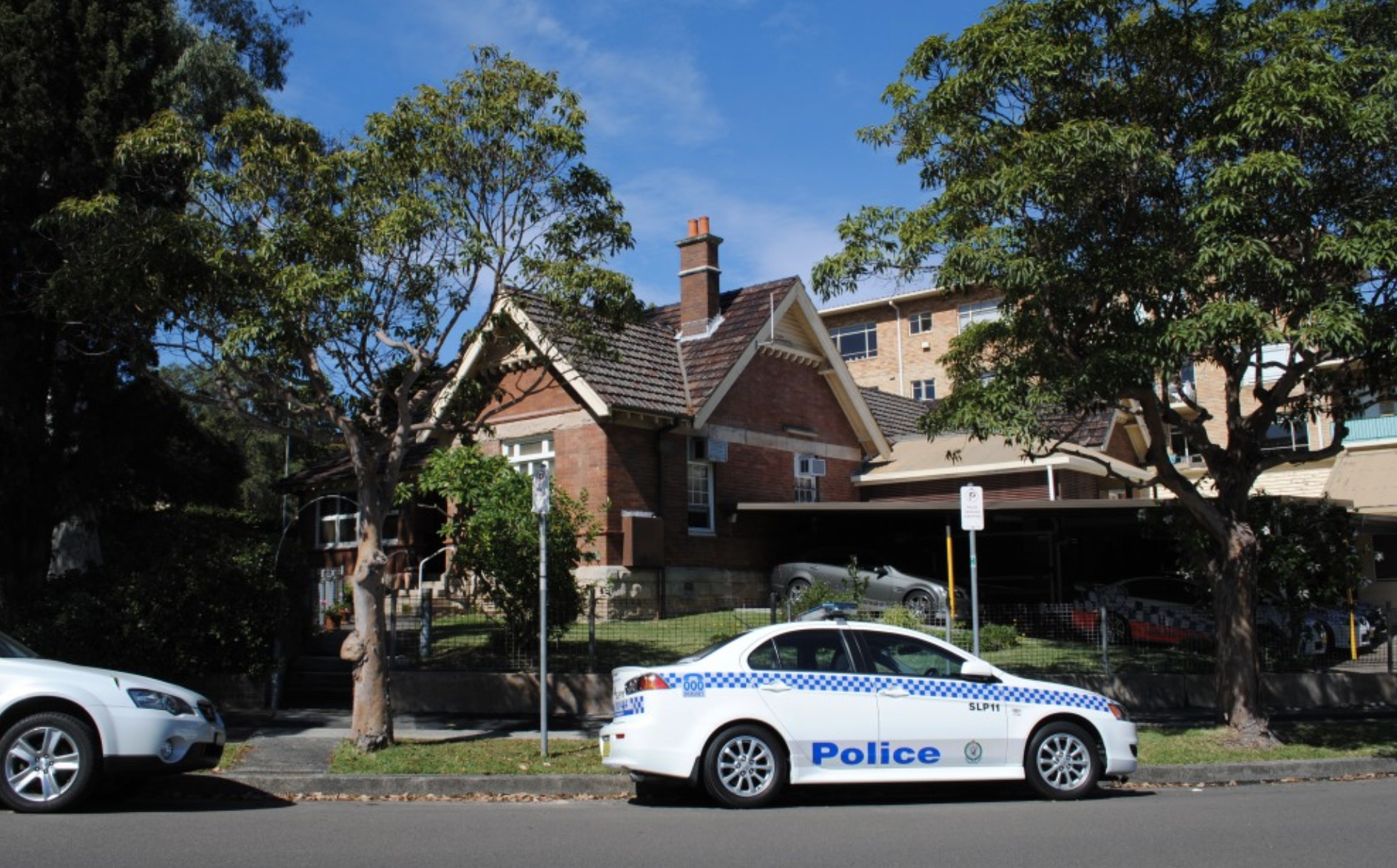 Local police feared the worst when called to Prince St, Mosman last Wednesday.