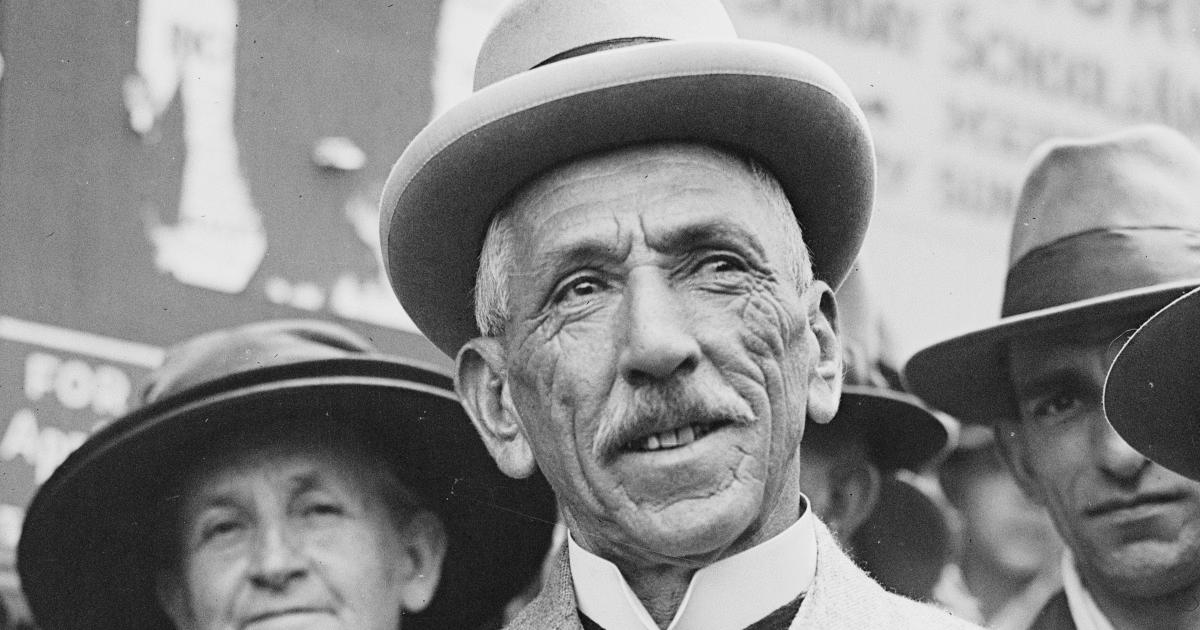Prime Minister Billy Hughes.